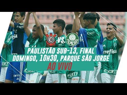ÍNTEGRA - Corinthians 1 x 0 Palmeiras - Final Paulistão Sub-13