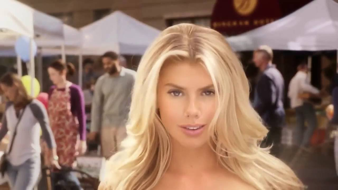 Hot commercial girls with big boobs The All Natural Burger Feat Charlotte Mckinney Commercial Big Boobs Girl Banned For Being Too Sexy Youtube