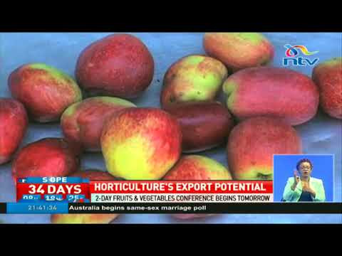 Demand for Kenya's horticulture produce way above the supply potential