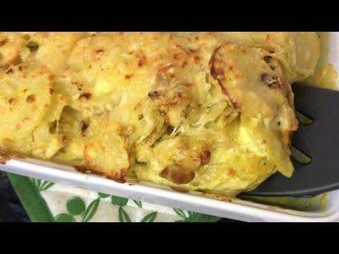 gratin-pommes-de-terre-poulet-|-recette-simple-de-gratin