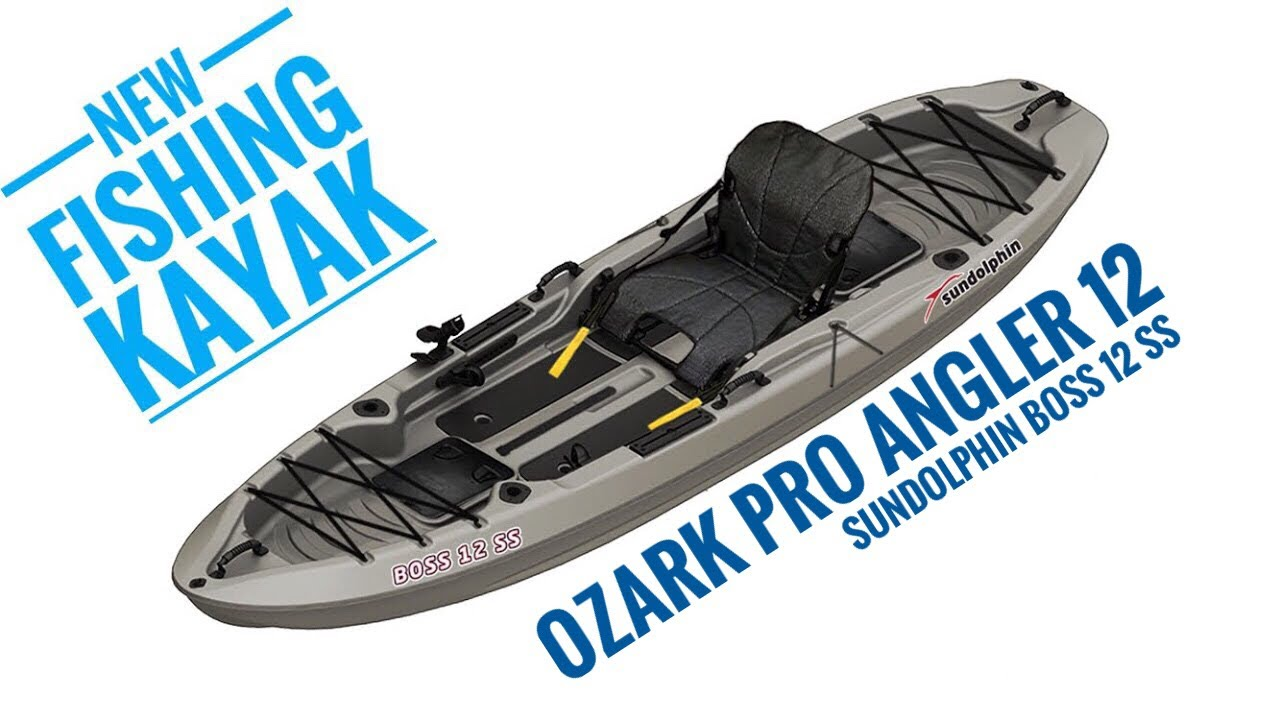NEW: Ozark Pro Angler 12 (aka) Sundolphin Boss 12 SS Fishing Kayak