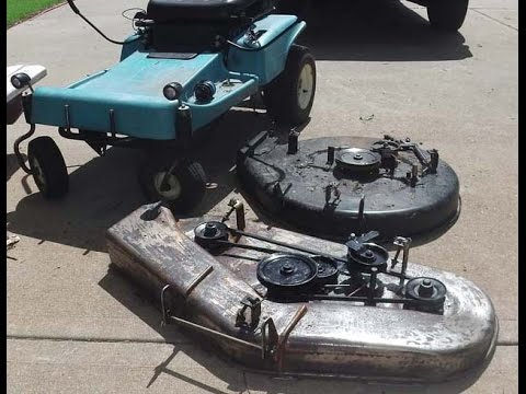 Refurb Amp Refit 42 Quot Deck To 30 Quot Dixon Mower And Still
