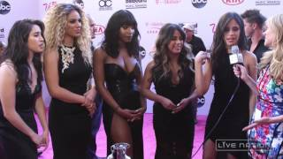 Fifth Harmony Tease Their 7/27 TOUR At The BBMAs