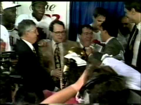 Chicago Bulls win 1992 NBA Championship