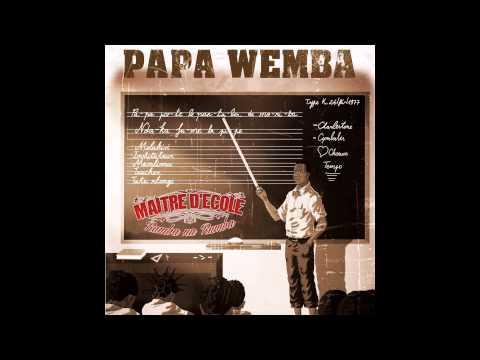 Papa Wemba - T'en Va Pas