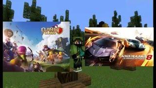 Clash Of Clans?,Asphalt 8?,Nuevo juego? MCPE-Partidas Online #Final Epico!