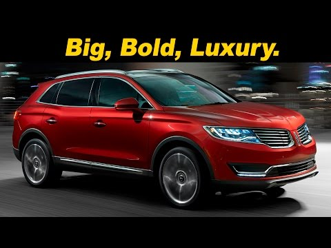 2016 / 2017 Lincoln MKX 2.7L Turbo Review and Road Test | DETAILED in 4K UHD!