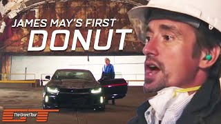 James May Tries to Pop His Donut Cherry in a Camero | The Grand Tour