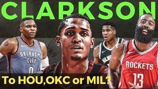 Jordan Clarkson TRADE to Rockets, OKC o sa Bucks? Saan bagay si JC?