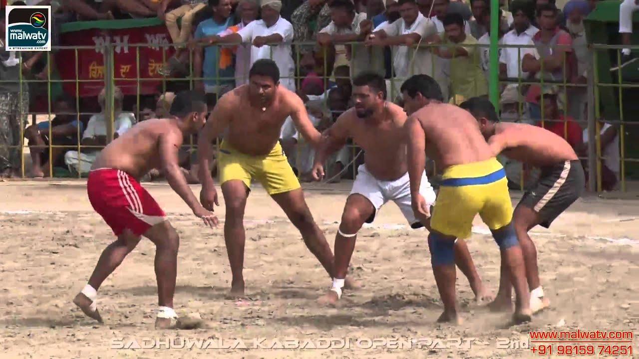 SADHUWALA (Ferozepur) kabaddi Tournament Sep-2014 (HD). Part 2nd.