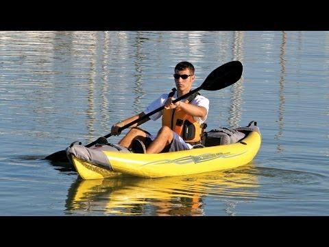AE1006-Y StraitEdge 1 kayak Quick Setup