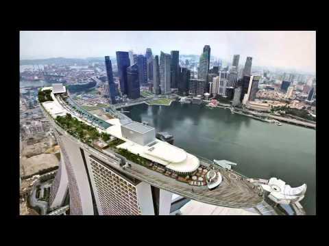 Крыша отеля Marina Bay Sands. Сингапур