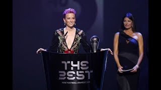 Megan Rapinoe reaction - The Best FIFA Women's Player 2019