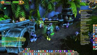 Warlords of Draenor First Day Mal'ganis World of Warcraft With Frost Death Knight Dravenwrath