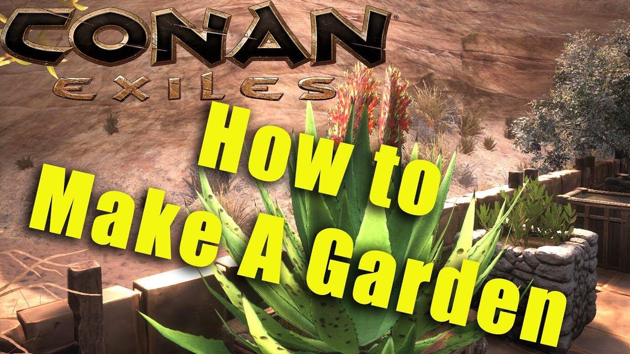 Conan Exiles Planter