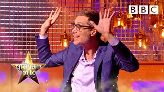 Stephen Merchant helped crowd surf Bruce Springsteen ON HIS OWN 😂 | The Graham Norton Show - BBC