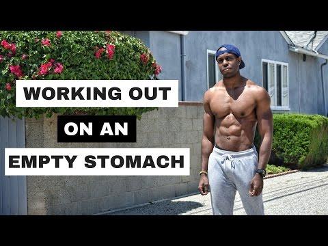Intermittent Fasting And Working Out On An Empty Stomach