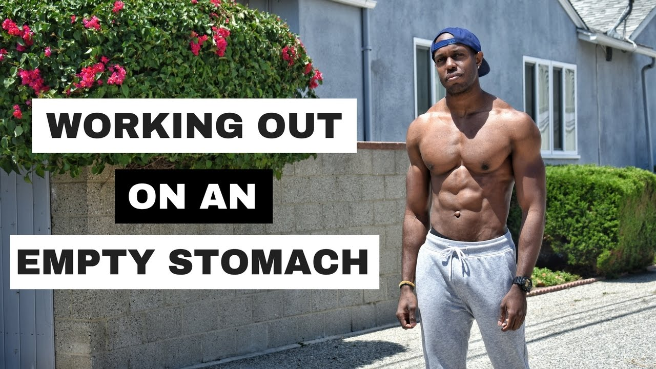 intermittent fasting and working out on an empty stomach youtube