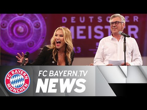 The Champions' party in Postpalast