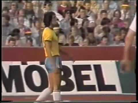 Friendly Match 1981  West Germany x Brazil