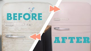 Transform An Old Fridge With Some Chalk Paint - HGTV Handmade