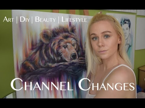 CHANNEL CHANGES: ART   DIY   BEAUTY   LIFESTYLE   Katy Harmston