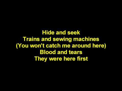 Imogen Heap- Hide and Seek With Lyrics (Original Whatcha Say)