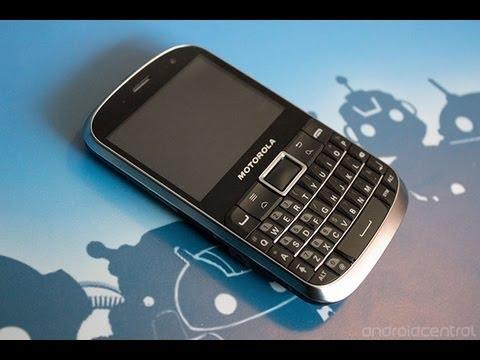 Motorola Defy Pro hands-on