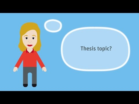 Finding a thesis topic (03:27 min)