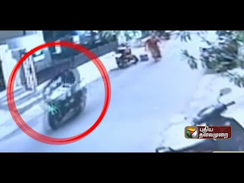 Video released: Robbery incidents in Mylapore involve man on bike