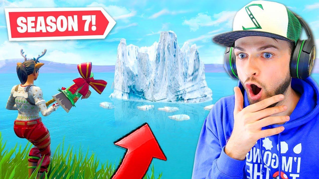 The New Iceberg In Fortnite Season 7 Youtube