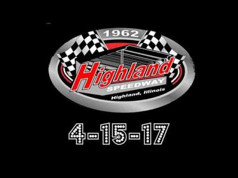 HIGHLAND SPEEDWAY 4-15-17