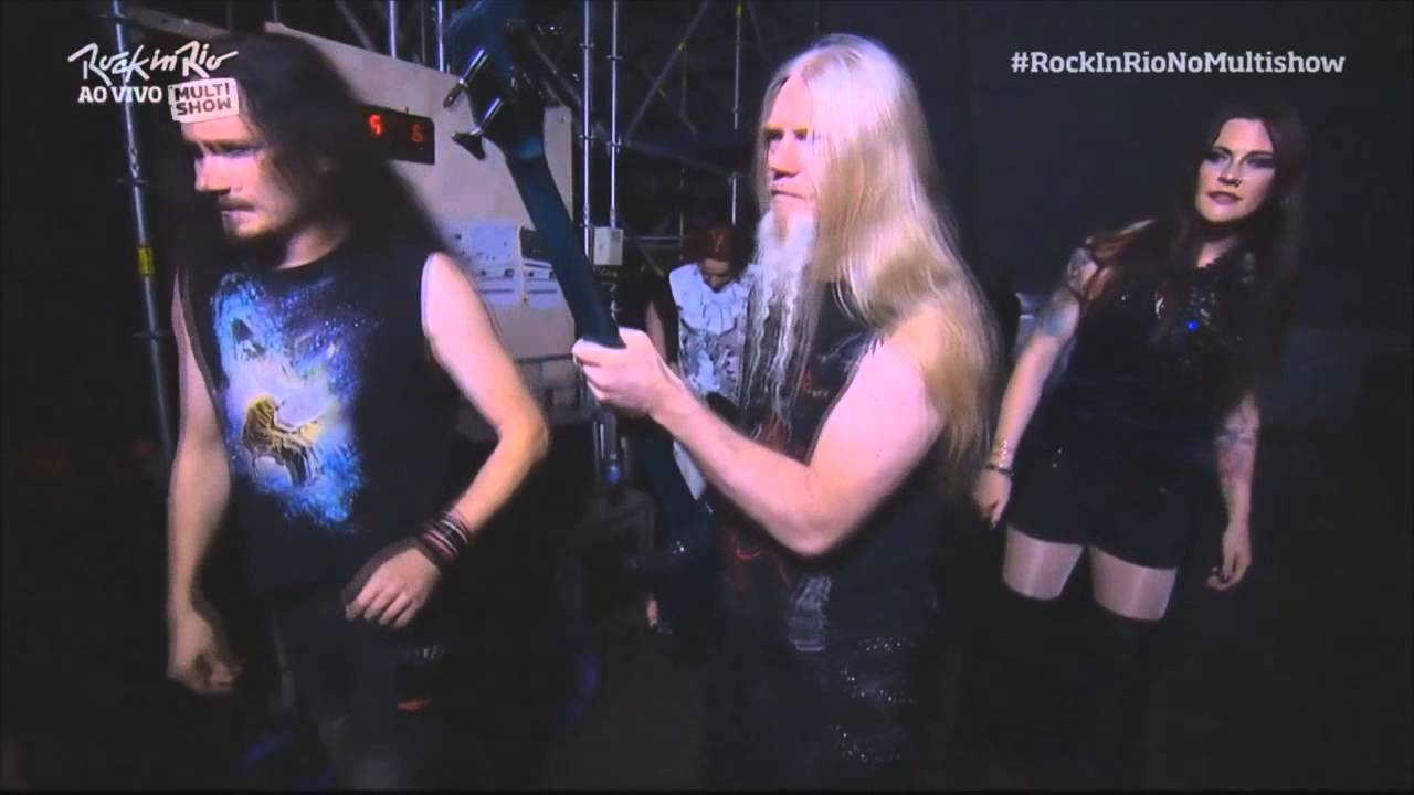 8062586d Nightwish - Backstage | Live at Rock in Rio 2015 - YouTube