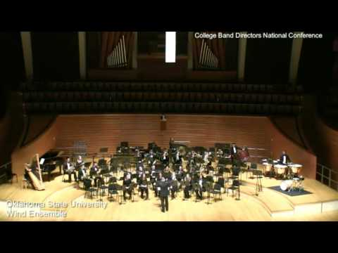 Oklahoma State University Wind Ensemble CBDNA 2017