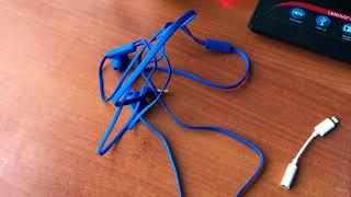 Обзор внутриканальных наушников Monster N-TUNE 100 синего цвета.