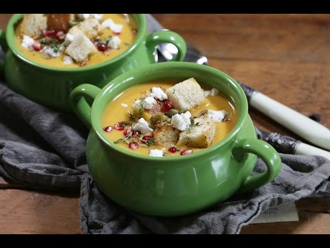 Butternut Squash & Apple Bisque Recipe | The Inspired Home