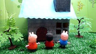 Сказка -Три поросенка Свинка Пеппа Игры с игрушками