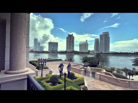 FISHER ISLAND, MIAMI, DREAM HOUSE FURNISHED BY ANNIBALE COLOMBO