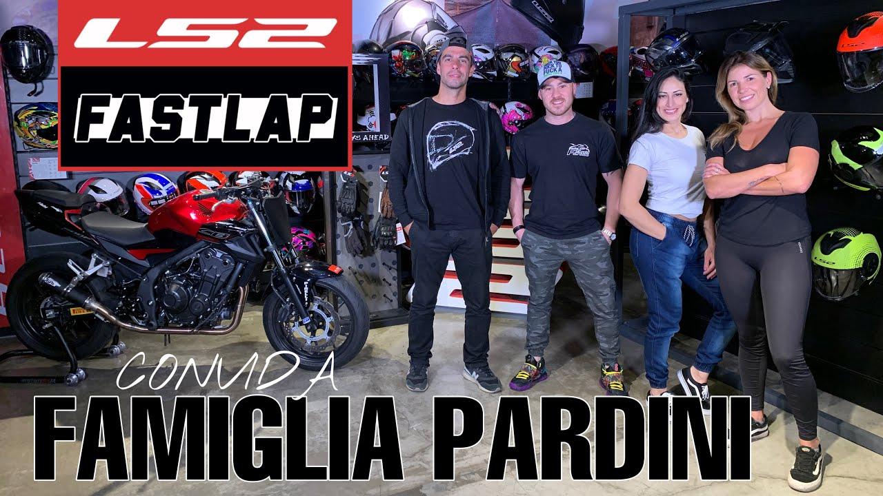 LS2 Fast Lap ft. Cíntia e Leandro Pardini - Ateliê Famiglia Pardini
