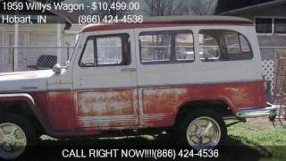 1959 Willys Wagon  for sale in Hobart, IN 46342 at Haggle Me