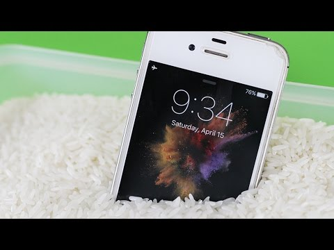 3 Simple Life Hacks - How to save your wet phone #2