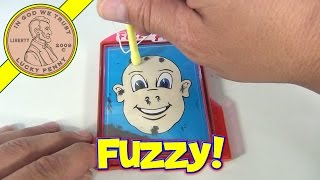 Fuzzy Face Magnetic Hair Magic Drawing Toy, by Ja-Ru - Magnet Drawing Fun!