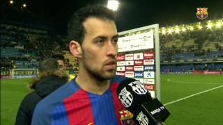 """Sergio Busquets: """"We won't give up"""""""