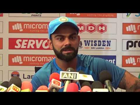 Virat Kohli addresses media ahead of India-Sri lanka ODI series
