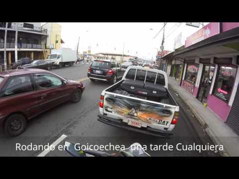 Rodando en Guadalupe de Goicoechea una tarde cualquiera....