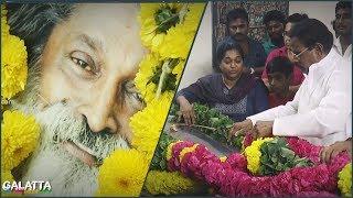 ADMK's Natarajan Pays his Condolences to Veera Santhanam