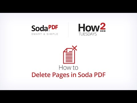 How to delete pages in Soda PDF – Soda PDF
