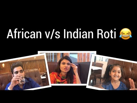 African v/s Indian Roti || Unexampled Inderaj