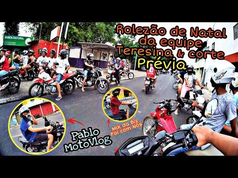 PRÉVIA DO ROLÊ DE NATAL 2019 EM TERESINA-PI FT. PABLO MOTOVLOG 🏍️💨🎅🎄