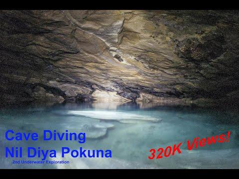 Ravana's Caves, Nil Diya Pokuna - the second underwater exploration